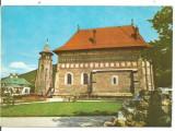 (A)carte postala(ilustrate) -PIATRA NEAMT-Biserica si Turnul lui Stefan cel Mare