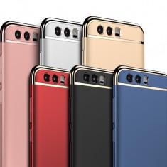 Bumper / Husa 3 in 1 Luxury pentru Huawei Honor 8 / Honor 9 - Husa Telefon, Negru