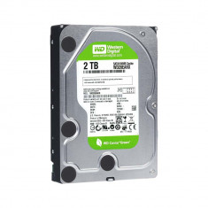 Resigilat : HDD intern Western Digital Green, 2TB, 5400rpm, 64MB Buffer - Media player