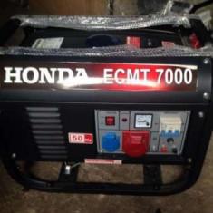 Vând generator electric Honda ECMT-7000 nou - Generator curent