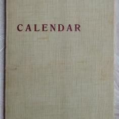 ION HOREA - CALENDAR (VERSURI 1969)[dedicatie/autograf pt acad. EMIL CONDURACHI]