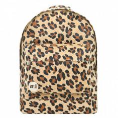 Rucsac Mi-Pac Gold Leopard Pony Tan (100% Original) - Cod 7880611 - Ghiozdan, Unisex, Multicolor