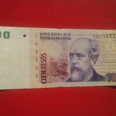 Lichidare stoc-100 PESOS 2003-ARGENTINA-RARA!!!-cotatie ridicata... - bancnota america