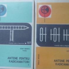 Antene Pentru Radioamatori Vol.1-2 - Iosif Remete, 401382 - Carti Electrotehnica