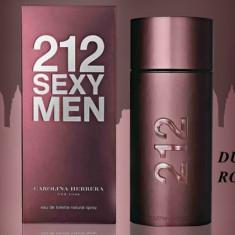 Parfum Original Carolina Herrera 212 Sexy Men EDT 100ml Tester + CADOU - Parfum barbati Carolina Herrera, Apa de toaleta