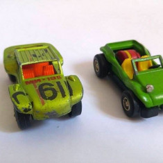 Lot 2 masinute fier macheta Matchbox Lesney 1971 si Darda W. Germany - Masinuta Hot Wheels