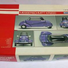 Kit masina macheta Gunze Sangyo Messerschmitt KR200 scara 1/24 Japan - Set de constructie