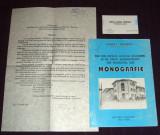Mihai Tufescu - File din istoria Liceului Economic din Iasi, monografie autograf