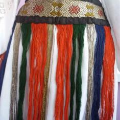 Catrinte fir metalic - Costum popular