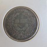 Moneda de argint Danemarca, 2 Kroner 1892, tiraj 100000 de piese, Europa
