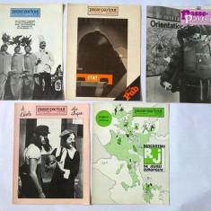 Lot 5 reviste Passe-Partout, franceza, anii 79, 80, 81 - Revista culturale