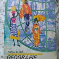 Geografie Distractiva - Aurel Lecca, 401365 - Carte Geografie
