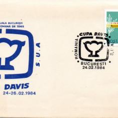 Romania 1984, Sport, Cupa Davis, Bucuresti, Tenis
