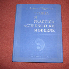 Teoria Si Practica Acupuncturii Moderne - C.Ionescu Tirgoviste-stare foarte buna - Carte Medicina alternativa