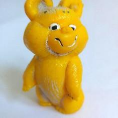 Figurina Ursuletul Misha (urs) de la jocurile Olimpice Moscova 1980, cauciuc - Figurina Animale