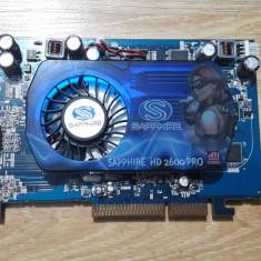 Vand ATI HD 2600 PRO 512mega AGP pret 100lei - Placa video PC Sapphire, 512 MB