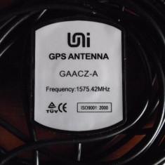 Antena GPS Activa GAACZ-A, cablu 5m, mufa MMCX