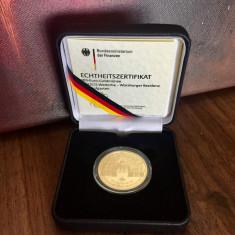 Moneda de aur - Germania 100 EURO 2010 Würzburg - Patrimoniu UNESCO, Europa