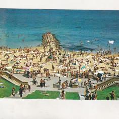 Bnk cp Eforie Sud - Plaja - necirculata - Carte Postala Dobrogea dupa 1918, Printata