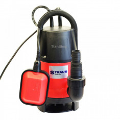 Pompa pentru apa murdara Straus ST/DWP750-856, 750W - Pompa gradina Straus Austria, Pompe submersibile, de drenaj