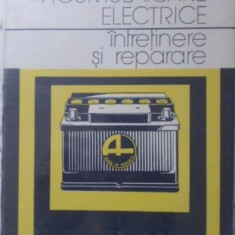 Acumulatoare Electrice Intretinere Si Reparare - Gh. Clondescu, O.d. Tomuta, 401407 - Carti Electrotehnica
