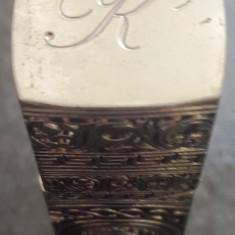 Cutie goala din metal de la parfum Calvin Klein, cu magnet la capac - Parfum unisex Calvin Klein, 10 ml, Altul