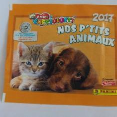1 Plic stickere Panini Amici Cucciolotti Nos P'tits Animaux 2017
