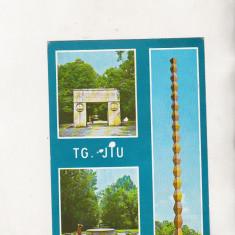 Bnk cp Targu Jiu - Vedere - circulata - marca fixa - Carte Postala Oltenia dupa 1918, Printata