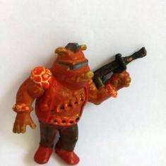 Figurina porc Bebop Testoasele Ninja, 6cm, vechi, vintage, cauciuc, - Figurina Desene animate