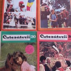 Lot 52 reviste vintage CUTEZATORII anul II 1968 / R7P5 - Revista scolara