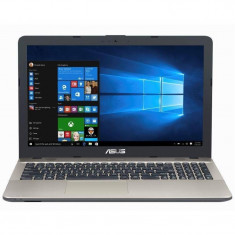 Laptop Asus VivoBook X541UA-GO1373T 15.6 inch HD Intel Core i3-7100U 4GB DDR4 500GB HDD DVD-RW Widows 10 Chocolate Black, Windows 10