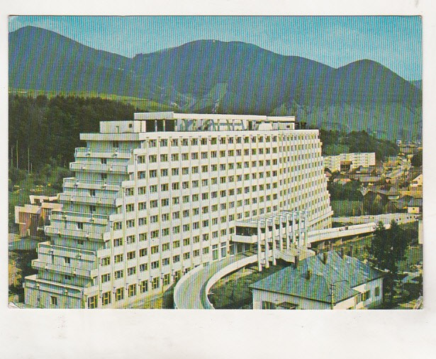 bnk cp Sangeorz Bai - Hotelul Hebe - circulata - marca fixa