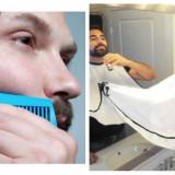 Șablon Modelare Barbă + Manta pentru Barbă