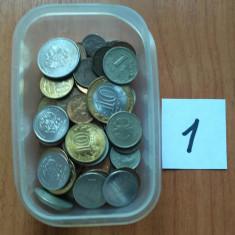 Rusia 1961-2017 Lot 100 monede ( 1 ), Europa, Cupru-Nichel