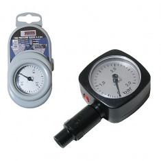 Manometru presiune aer Automax plastic 3, 0 bari si ceas de 56 x 56 mm - Manometru presiune roti Auto