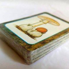 Joc de carti educative cu ciuperci si copaci, noi, in folie, 44buc, complet - Colectii