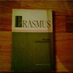 DESPRE RAZBOI SI PACE-ERASMUS - Filosofie