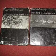Geologie inginereasca - coord. Ion Bancila (2 vol.) - Carte Geografie