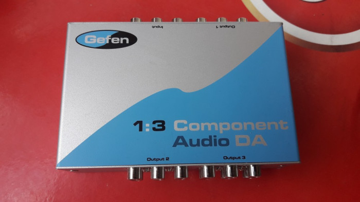 AMPLIFICATOR  GEFEN 1;3 COMPONENT AUDIO DA .