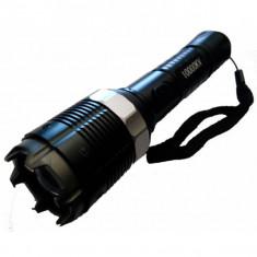 Electrosoc cu lanterna, lupa si zoom 8810