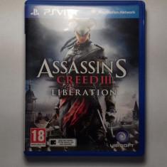 Joc Assassin's Creed III: Liberation pentru PlayStation Vita - Assassins Creed 4 PS3 Ubisoft