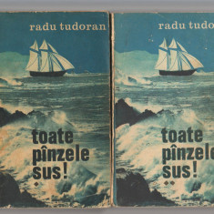 (C7731) TOATE PANZELE SUS DE RADU TUDORAN, VOL 1 SI 2, EDITIE NE VARIETUR - Roman