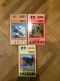 Muntii nostri nr. 6, 17, 22,23,26 -Retezat, Aninei,Postavaru,Persani,Suhard