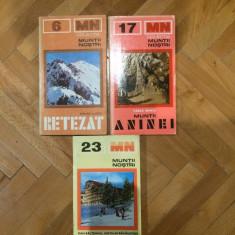 Muntii nostri nr. 6, 11, 22, 23, 26 -Retezat, Aninei, Postavaru, Persani, Suhard - Ghid de calatorie
