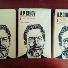 A.P. Cehov - Opere (Vol 1-3, Editura Univers) - Carte Teatru