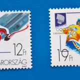 UNGARIA -Sport olimpic-serie completa-nestamp-mnh - Timbre straine, Stampilat