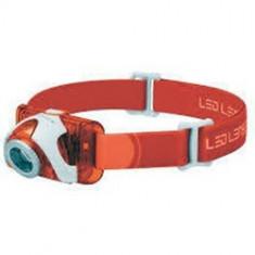 Lanterna cap led lenser seo3 orange 90lm 3xaaa bl - Set pescuit