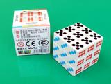 Cub Rubik Moyu 3x3x3 - Zar + Stand pentru cub