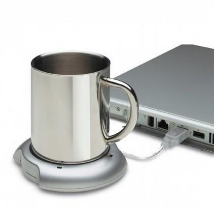 Suport USB pentru mentinerea temperaturii cafelei sau ceaiului foto mare