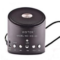 Boxa portabila WS-A9, 6 W, USB, LED